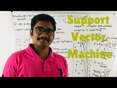Machine Learning | Support Vector Machine