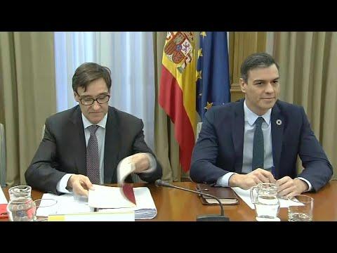 Nouveau coronavirus: réunion du gouvernement espagnol | AFP Images