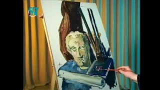 Уроки живописи # 36. Рисуем натюрморт