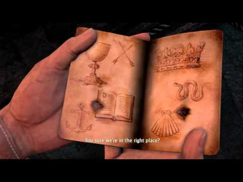 Uncharted Collection - Drake's Fortune On The Trail of the Treasure: Symbols Puzzle Room Elena Sully
