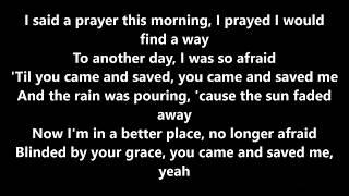 Blinded by your grace by Stormzy ft MNEK lyrics