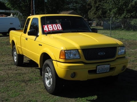 2001 ford ranger edge 4x4 truck for sale youtube. Black Bedroom Furniture Sets. Home Design Ideas