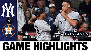 Download Gleyber Torres' HUGE game leads Yankees to win | Yankees-Astros MLB Highlights Mp3 and Videos