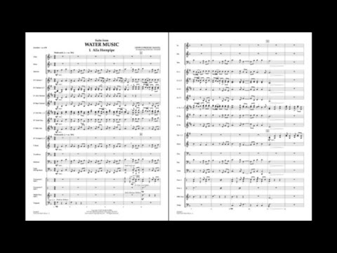 Suite from Water Music by Handel/arr. Johnnie Vinson