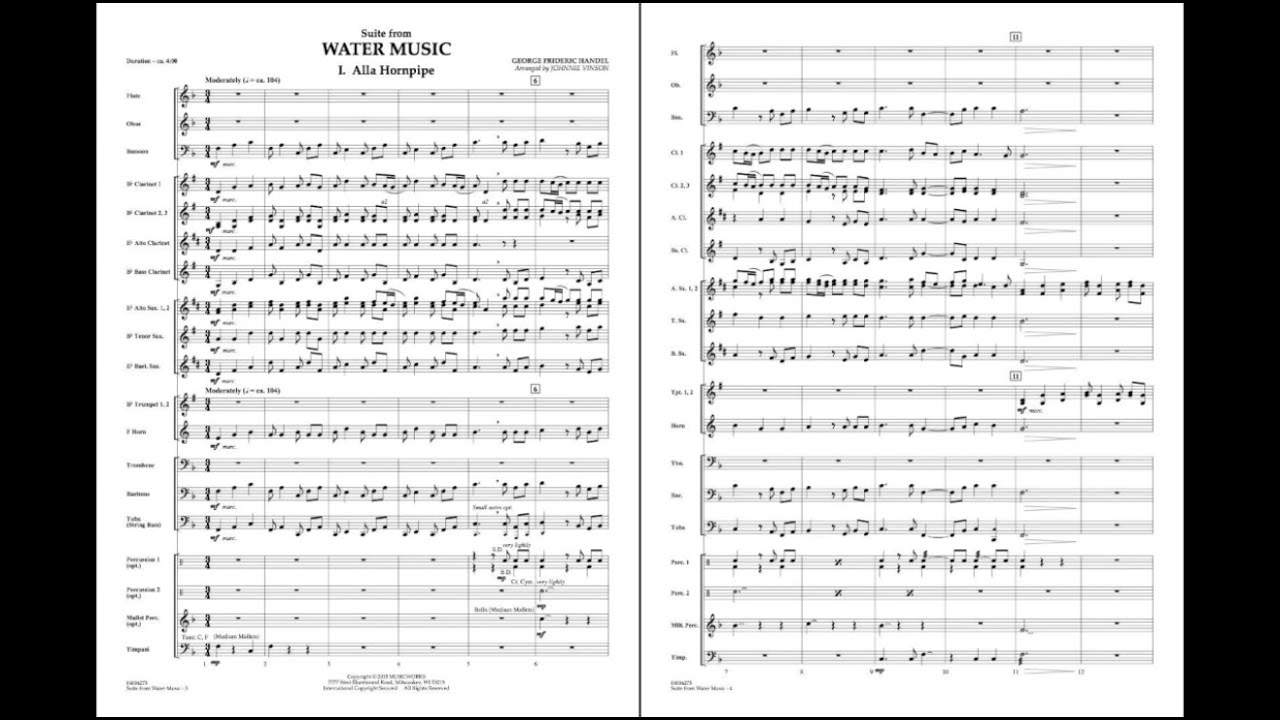 300 Years Of Handel's 'Water Music', With A Splash Of Politics