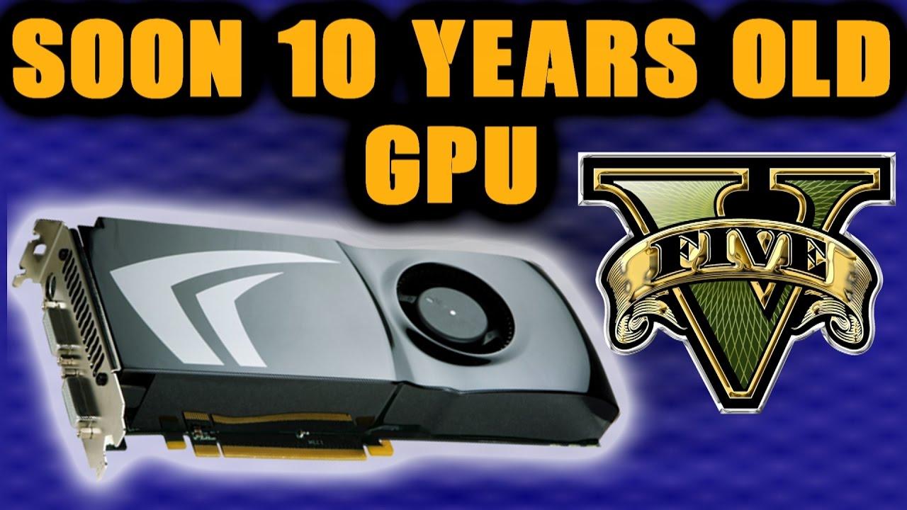 What It Feels Like To Play GTA V On 9800 GTX