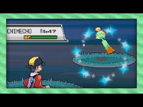 Live Shiny Chimecho In The Safari Zone After 33,970 Random Encounters! (Pokémon SoulSilver)