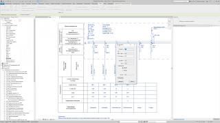 Расчёт электрических схем и фазировка в Revit