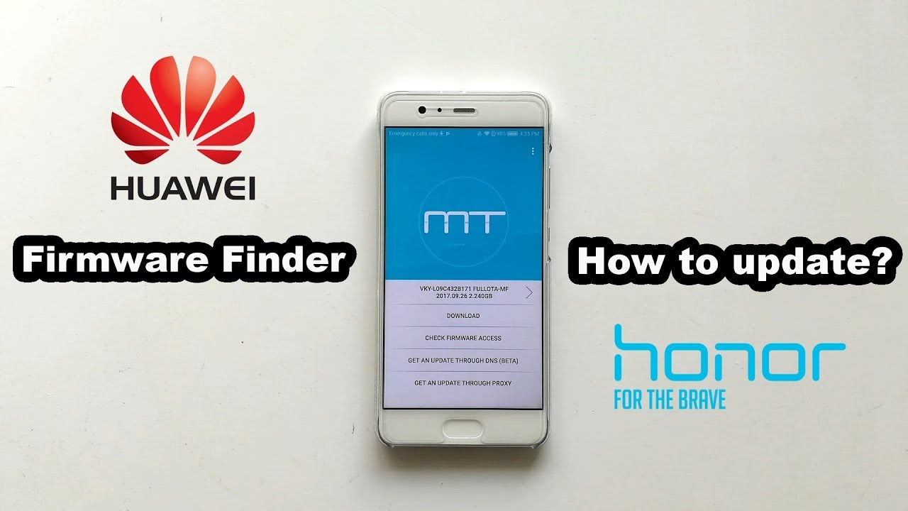 How to force firmware updates on Huawei & Honor devices [Firmware Finder]