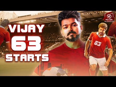 Thalapathy 63 Latest Update is here   Thalapathy   Vijay   Atlee   AGS Entertainment