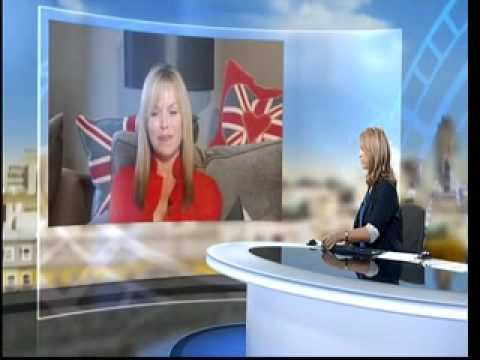 Susan Boyle - ITN News Story With Amanda Holden Interview (16th April)