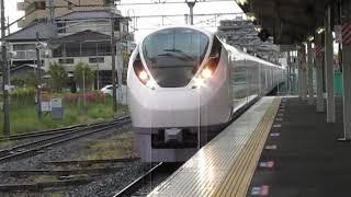 常磐線E657系特急ひたち18号品川行牛久駅高速通過