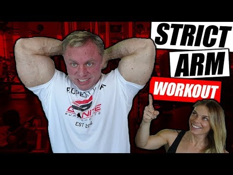 Strict Arm Workout | John Meadows & Vegan Girl Gone Green