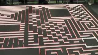 マイクロマウス2012ハーフサイズ競技 Micromouse Halfsize
