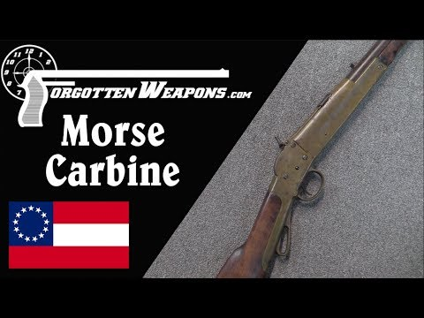 Confederate Morse Carbine: Centerfire Cartridges Ahead of Their Time