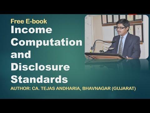 E-BOOK ON INCOME COMPUTATION AND DISCLOSURE STANDARDS | E-book On ICDS