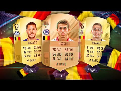 THE GLITCHED HAZARD! THE HAZARD BROTHERS FIFA FEUD SQUAD CHALLENGE! FIFA 18 ULTIMATE TEAM