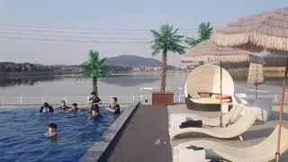 경주풀빌라펜션 !! 뜨끈뜨끈한 수영장이 있는 동남아 감…