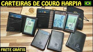 NOVAS CARTEIRAS DE COURO NACIONAL - HARPIA BC