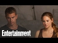 Divergent': Behind The Scenes With Shailene Woodley & Theo James | Entertainment Weekly