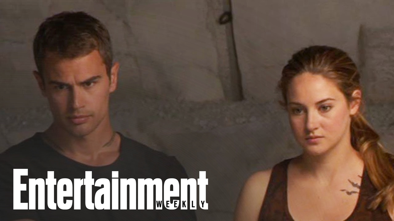 Divergent Behind The Scenes With Shailene Woodley Theo James Entertainment Weekly