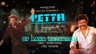 Aaha kalyanam | petta | SuperStar Rajinikanth | Anthony daasan