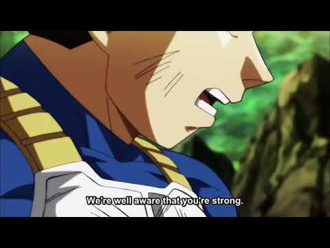 Vegeta (royal blue)ang goku goes full power vs jiren dbs 123