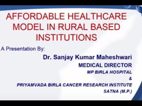 ETHealthworld Webinar - Building affordable, world-class healthcare delivery model in rural India