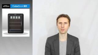 видео Обзор Effire ColorBook TR801