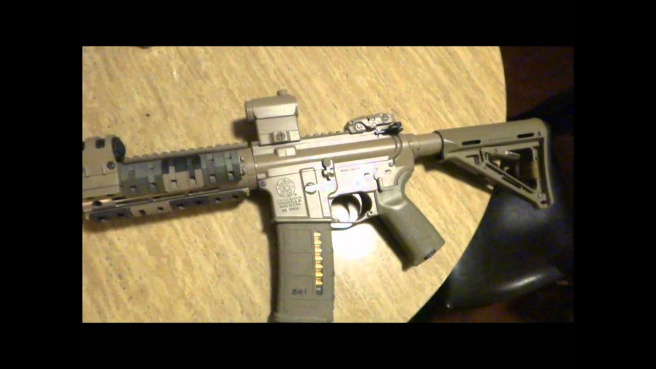 Custom Painted Rifle White