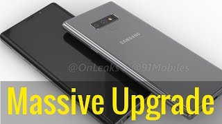 Samsung Galaxy Note 9 - MASSIVE UPGRADE IS FINALLY HERE