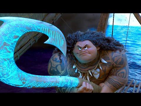 Смотреть мультфильм полубог мауи