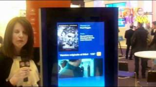 Harris Corporation (U.S.) Demos Digital Signage Totem With InfoCaster
