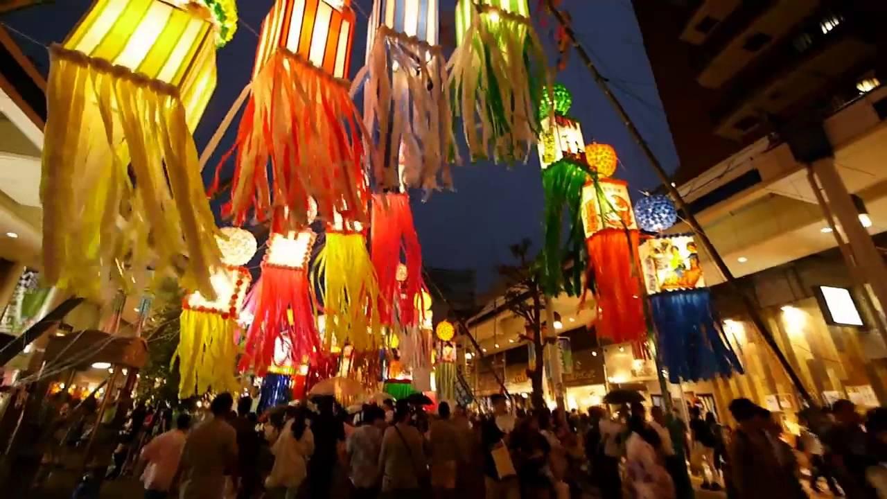 2014 平塚七夕祭り - YouTube