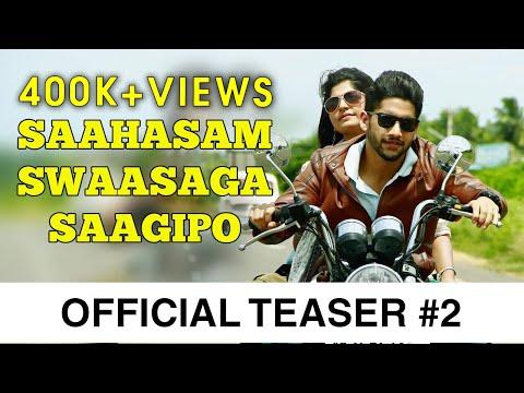 Saahasam Swaasaga Saagipo - Official Teaser #2   A R Rahman   Naga Chaitanya   Gautham Vasudev Menon