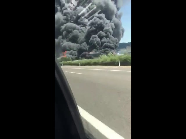 Incendio di Brendola * Corriere Quotidiano