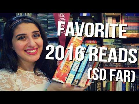 FAVORITE BOOKS I'VE READ IN 2016 SO FAR