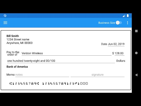 check writer 2.0 - print your checks at home - apps on google play