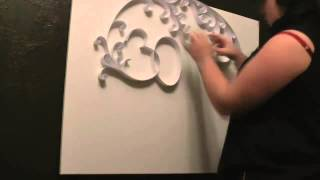 30 STM ~ quilling technic (speed video)