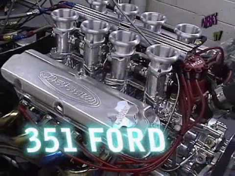 Vicious 8 Stack Nelson Racing Engines 500 HP Ford 351 Windsor  NRE  Tom  Nelson