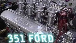 Ford 408W Stroker 8 Stack EFI Crate Engine Dyno Test