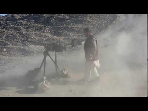 12.7 mm gun firing ummm very fast...