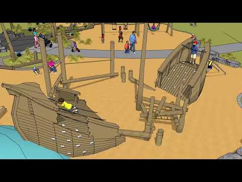 Cove Park Natural Playground Design