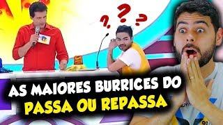 As MAIORES BURRICES do programa PASSA ou REPASSA! INACREDITÁVEL!!!