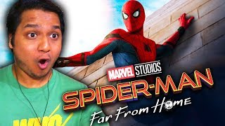 Indian Reacting To Spider-Man : Far From Home Teaser Trailer (2019) - Amazing New Secrets