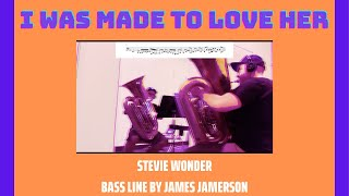 I was made to love her - Stevie Wonder [TUBA COVER]