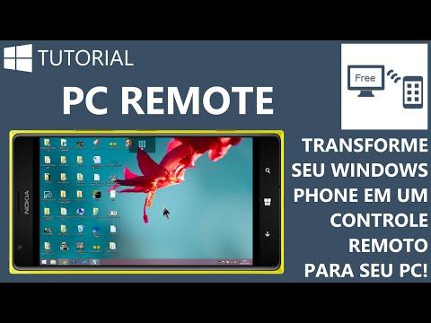 PC Remote - Transforme seu Windows Phone em um controle remoto para seu PC! [Tutorial WP]