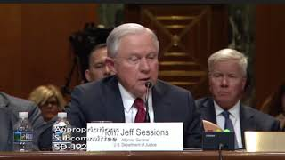 Senator Manchin Questions Attorney General Sessions thumbnail