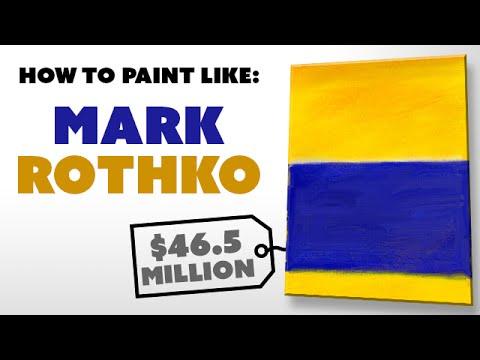 How To Paint Like: Mark Rothko