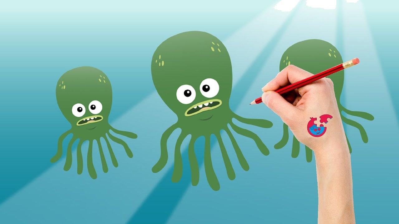 Drawing And Coloring Big Block Sing Song For Toddlers - Octopus ...